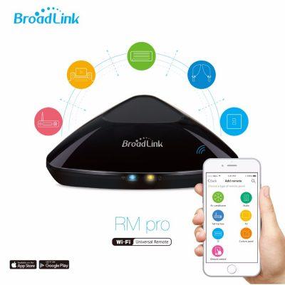 Intelligens Hub Univerzális Távirányító Funkcióval, BroadLink RM PRO Plus Hub