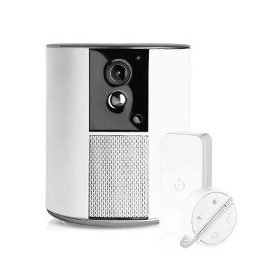 Somfy One + Felügyeleti Kamera, Teljes HD, Riasztó és Sziréna, WiFi, Bluetooth 4.0, Mozgásérzékelő (a Badge és az IntelliTag mellékelve)