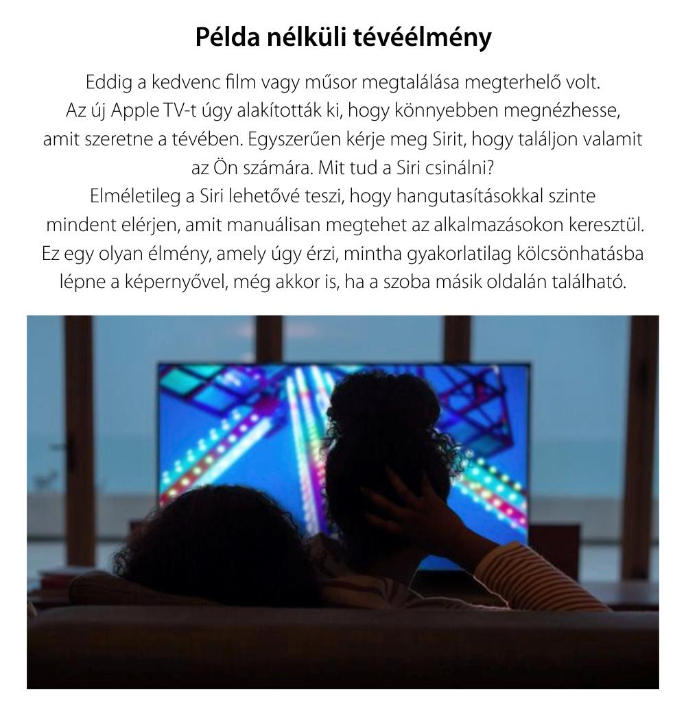 Apple TV, 32 GB, Full HD 1080p, MR912MP/A, fekete
