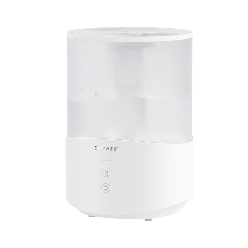BlitzWolf Párásító és Aroma Diffúzor BW-SH1, RGB fény, Kapacitás 2,5 L
