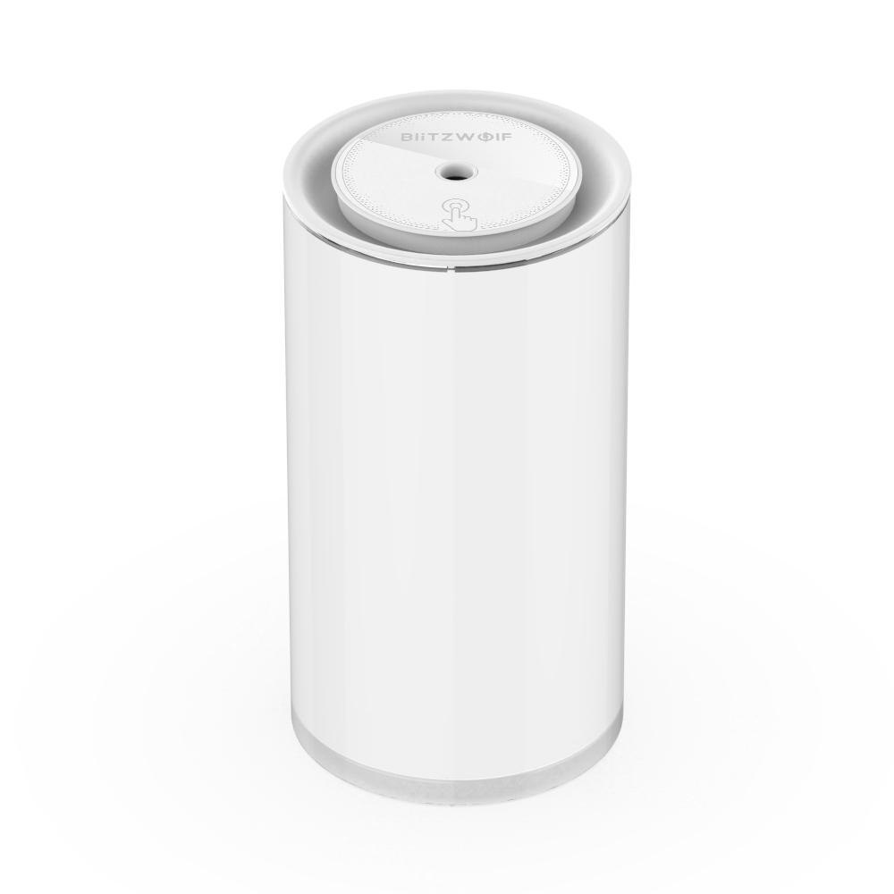Ultrahangos Párásító BlitzWolf BW-FUN2 és Készenléti lámpa, Fehér, Kapacitás 400 ml, Állítható fényerő