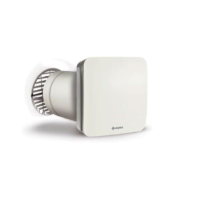 Aspira Ecocomfort Sat 160 Rf Egység, Hővisszanyerő, Páratartalom-érzékelő, 3 Fokozat, 90% -os Hatékonyság