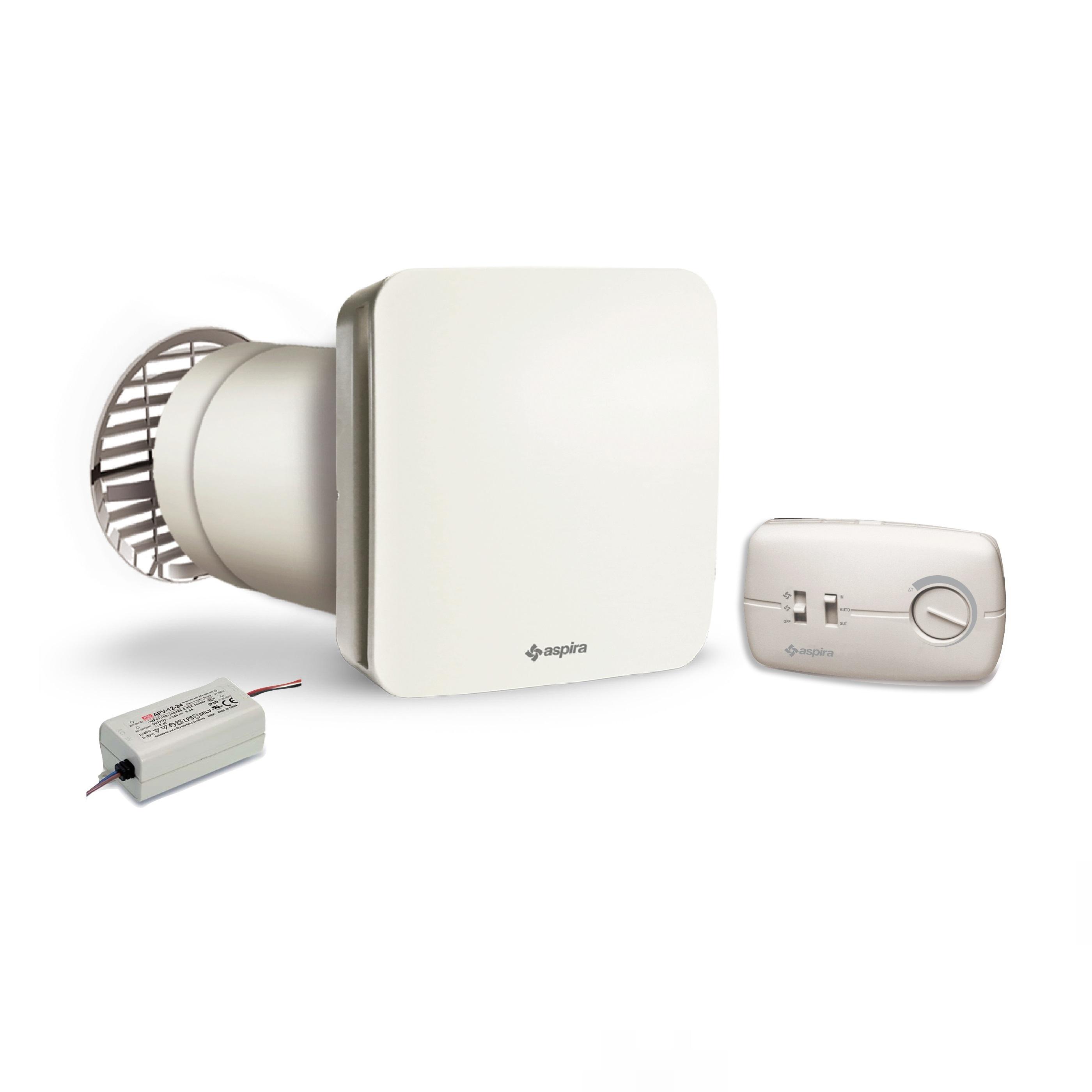 Aspira Ecocomfort 160 Egység, Hővisszanyerő Szellőzés, 2 Sebességfokozat, Fedettség 50 Nm